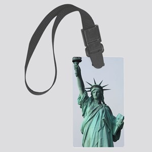 The Statue of Liberty Large Luggage Tag