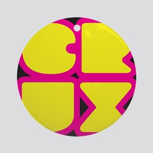Crux Round Ornament