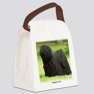 Hungarian Puli 8W48D-12 Canvas Lunch Bag