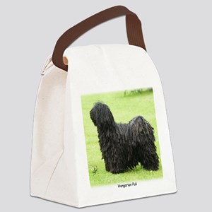Hungarian Puli 9M057D-17 Canvas Lunch Bag
