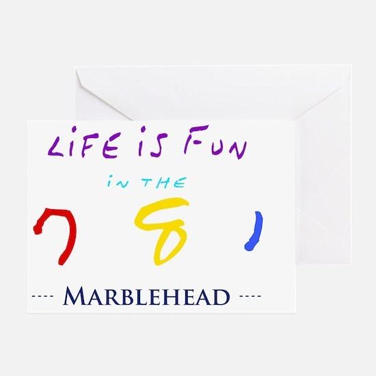 marblehead Greeting Card
