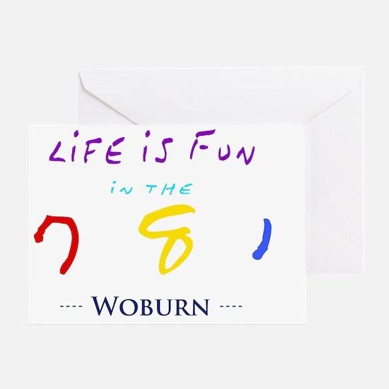 woburn Greeting Card