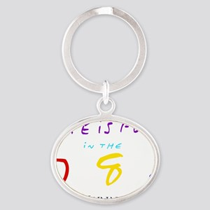 lynn Oval Keychain