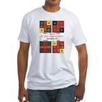 Flags - Irish Brigade of France - Fitted T-Shirt
