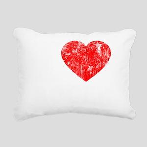 Love Roger - dk Rectangular Canvas Pillow