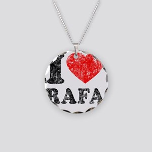 Love Rafa Necklace Circle Charm
