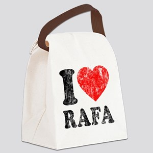 Love Rafa Canvas Lunch Bag