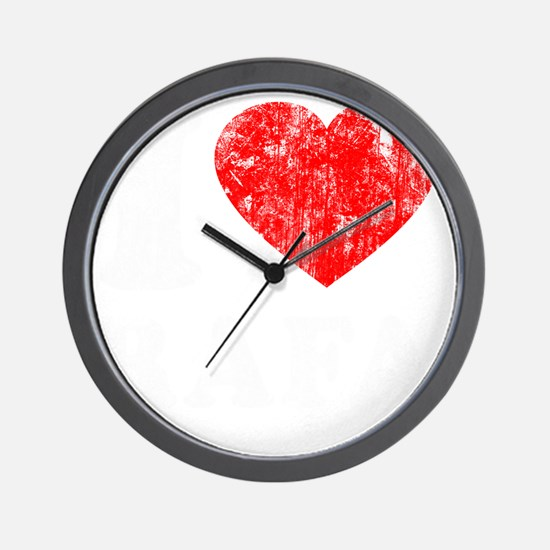 Love Rafa - dk Wall Clock