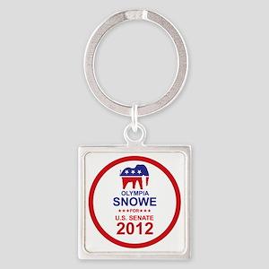 2012_olympia_snowe_main Square Keychain
