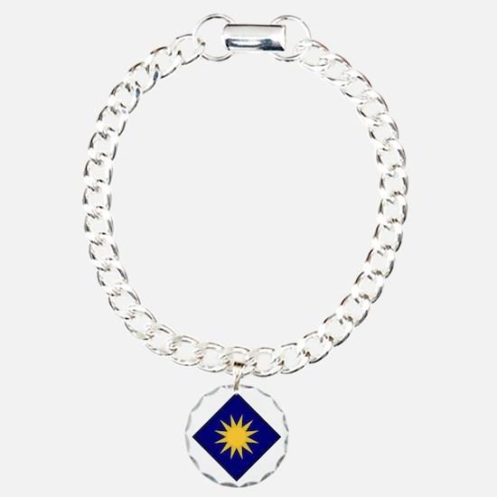 40th Infantry Division Charm Bracelet, One Charm