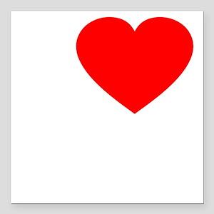 """Love Rafa 2 -dk Square Car Magnet 3"""" x 3"""""""