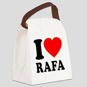Love Rafa 2 Canvas Lunch Bag