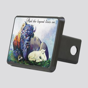 white buffalo legend Rectangular Hitch Cover