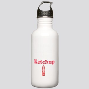 ketchup humor 2 vintag Stainless Water Bottle 1.0L