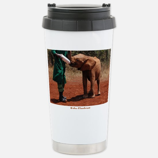 Baby Elephant Stainless Steel Travel Mug