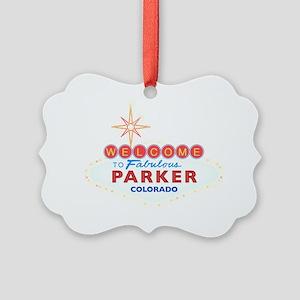 PARKER DARK Picture Ornament