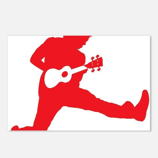 iUke Red Postcards (Package of 8)
