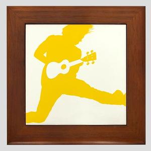 iUke Yellow Framed Tile