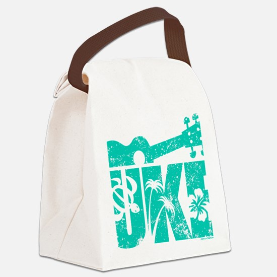 UKE Green Canvas Lunch Bag