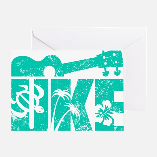 UKE Green Greeting Card