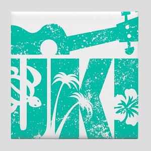 UKE Green Tile Coaster