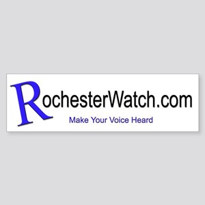RochesterWatch logoBumper Sticker