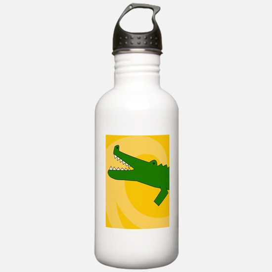 Alligator-iPad Water Bottle