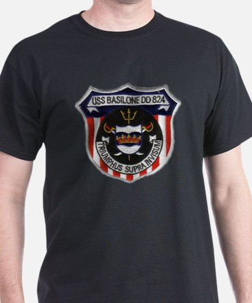 basilone dd patch T-Shirt