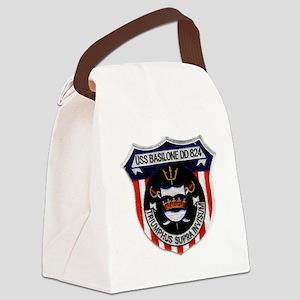 basilone dd patch Canvas Lunch Bag