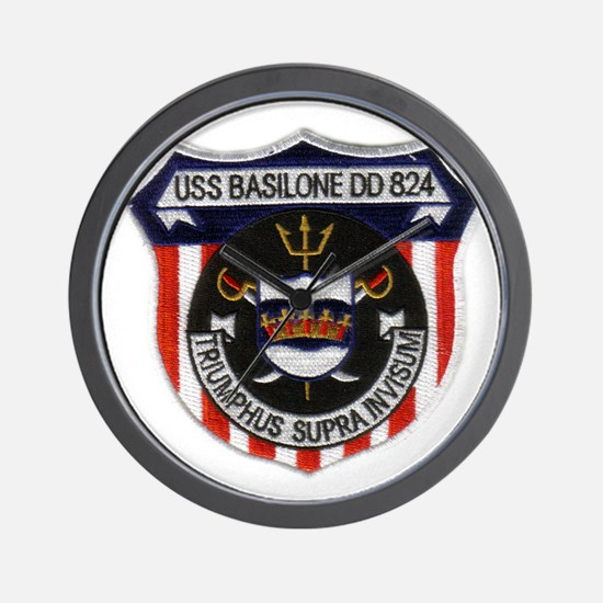 basilone dd patch Wall Clock