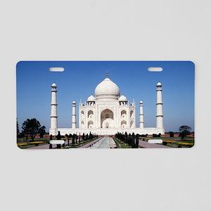 Taj Mahal Aluminum License Plate