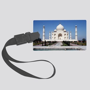 Taj Mahal Large Luggage Tag