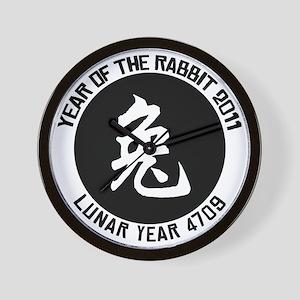 rabbit44 Wall Clock
