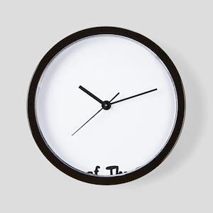 rabbit52red Wall Clock