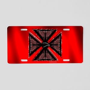 Celtic Iron Cross Aluminum License Plate