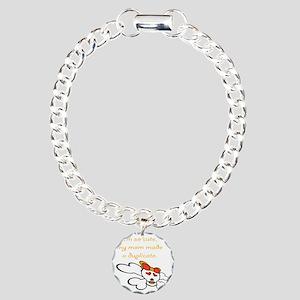 duplicate_orange Charm Bracelet, One Charm
