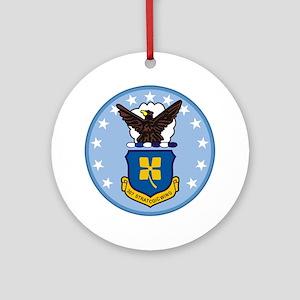 307th Strategic Wing Round Ornament