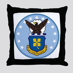307th Strategic Wing Throw Pillow