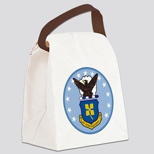 307th Strategic Wing Canvas Lunch Bag