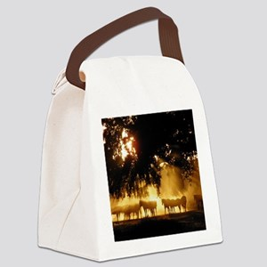 Field Horses signed. Oct. Winner Canvas Lunch Bag