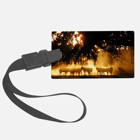 Field Horses signed. Oct. Winner Luggage Tag