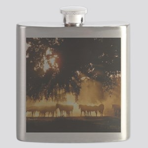 Field Horses signed. Oct. Winner Flask