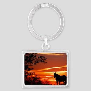 LEX102010 Landscape Keychain