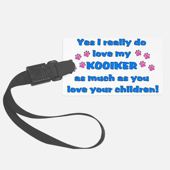 love kooiker Luggage Tag