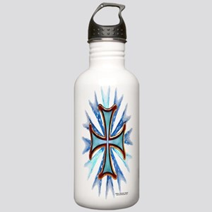 Iron Cross 3D Stainless Water Bottle 1.0L