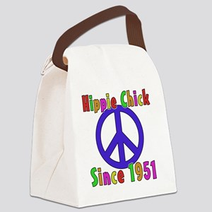 Hippie Chick1951 Canvas Lunch Bag