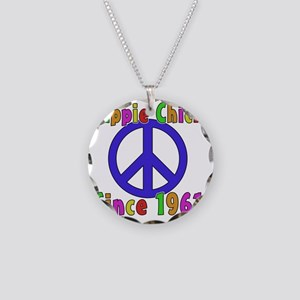 Hippie Chick1961 Necklace Circle Charm