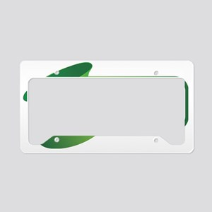 DRINKS WELL WITH OTHERS2 License Plate Holder