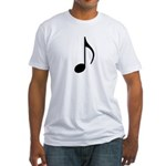 Quick Note Fitted T-Shirt
