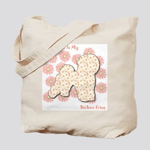 Bichon Happiness Tote Bag